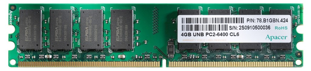4GB UNB DDR22 1024x234 The ABC's Of PC and Laptop Memory